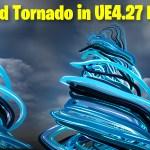 Stylized Tornado in UE4.27 Niagara Tutorial   Download Files