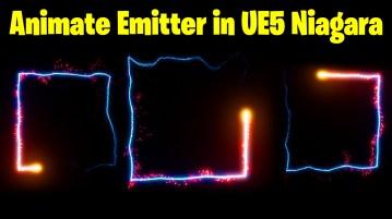 Animate Emitter in Square in UE5 Niagara Tutorial   Download Files