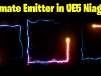Animate Emitter in Square in UE5 Niagara Tutorial | Download Files
