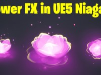 Flower FX in UE5 Niagara Tutorial | Download Files