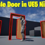 Particle Door in UE5 Niagara Tutorial | Download Files