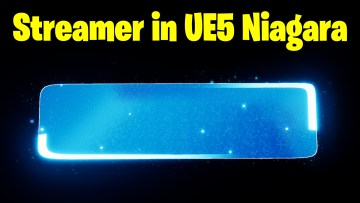 Streamer UI in UE5 Niagara Tutorial   Download Files