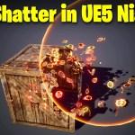 Box Shatter in UE5 Niagara Tutorial   Download Files