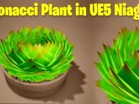 Fibonacci Plant in UE5 Niagara Tutorial | Download Project Files