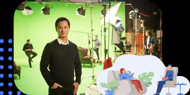Dr Kim On Production Set