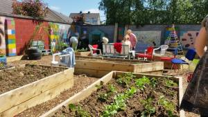 Focus on Gleann na Bearu Community Garden