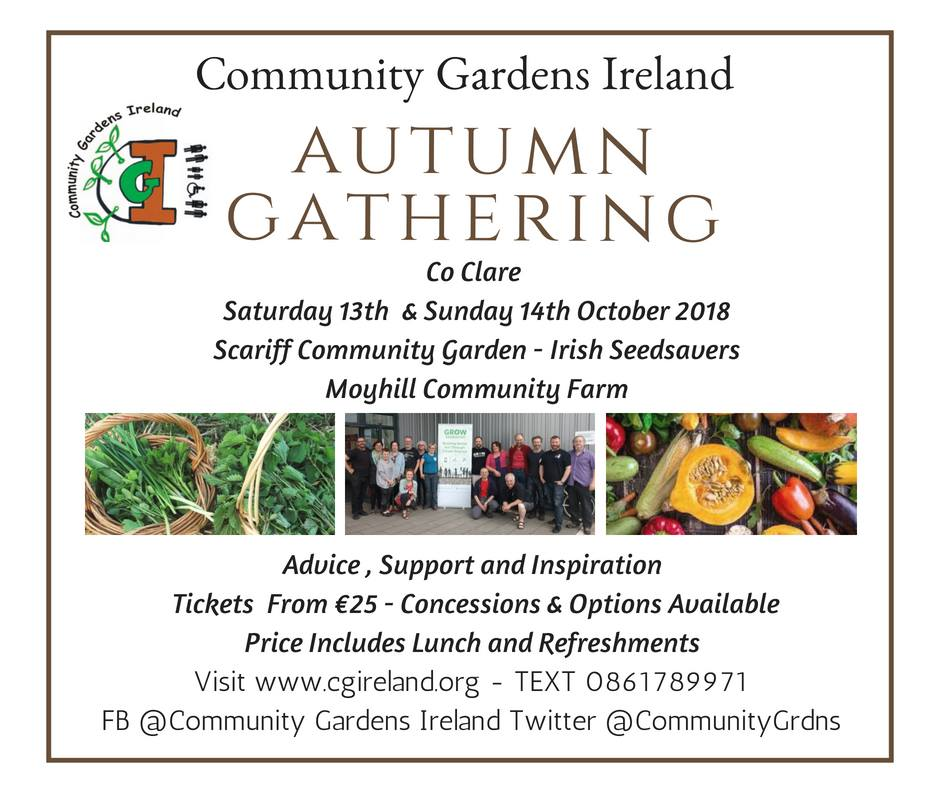 Community Gardens Ireland East Clare Autumn Gathering
