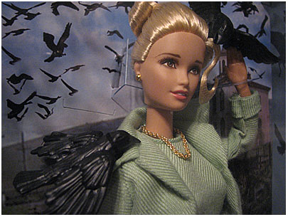Alfred Hitchcocks The Birds Barbie