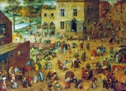 Les jeux d'enfants de Brueghel l'Ancien