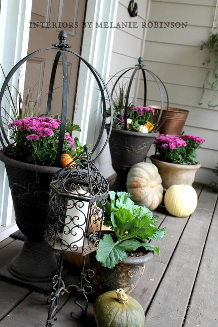 Best ideas for front door flower pots for you that are inexpensive and simple to do.