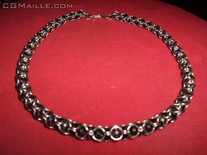 Free chain maille jewelry designs - you can create beautiful jewelry.