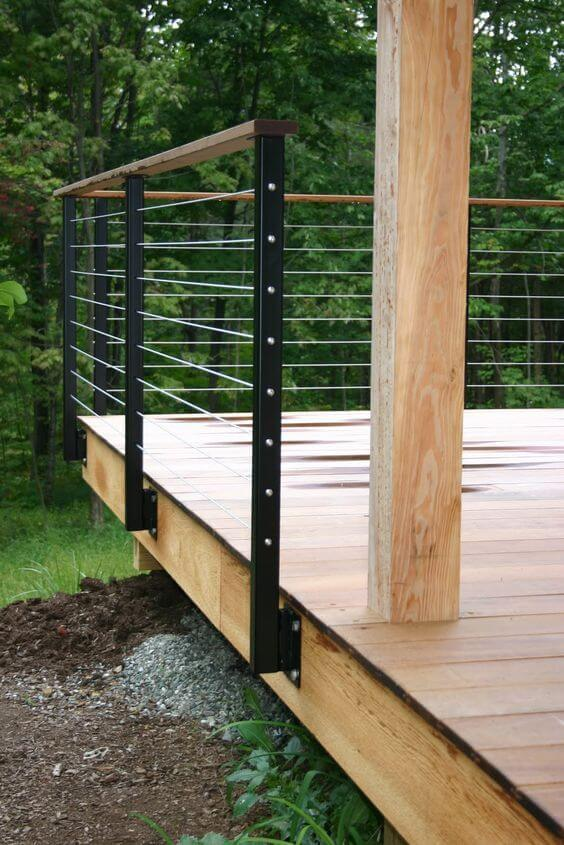 Unique deck railing ideas pinterest that mix looks and function