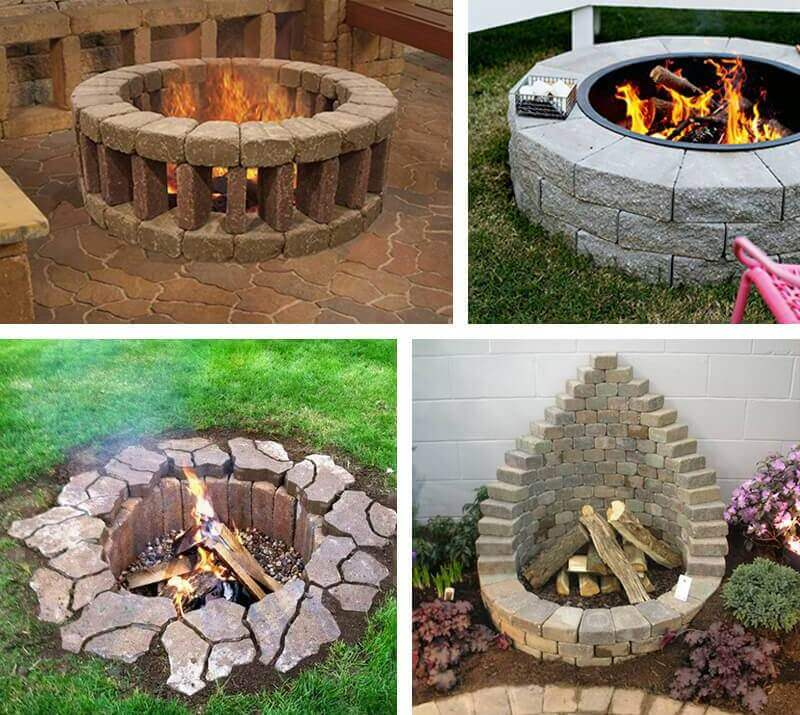 13 Inspiring DIY Fire Pit Ideas to Improve Your Backyard ... on Backyard Fire Pit Ideas Diy id=78513