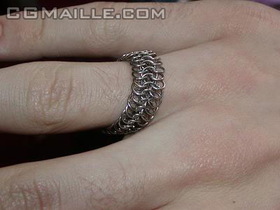 Unique chainmaille bridal jewelry designs - you can create beautiful jewelry.