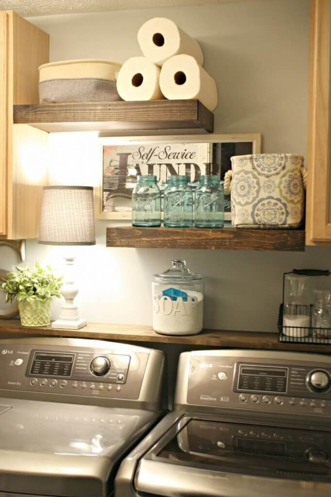 25 Beautiful Vintage Laundry Room Decor Ideas & Design for ... on Laundry Room Decor Ideas  id=52759