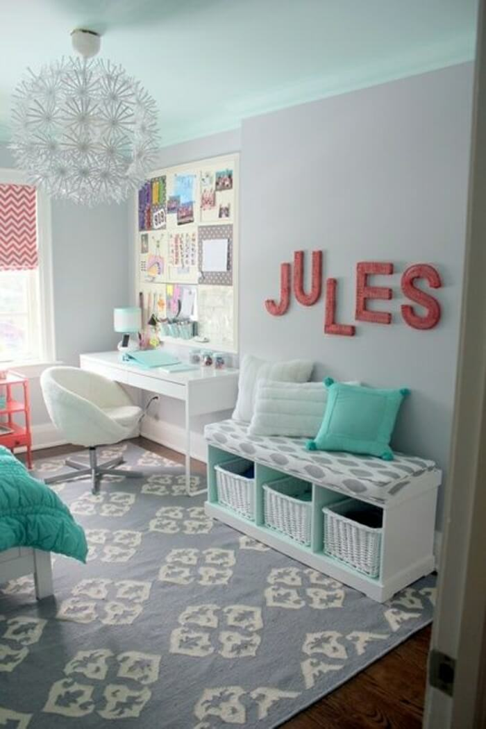 Coordinate Shades U2013 Teen Girls Bedroom Ideas