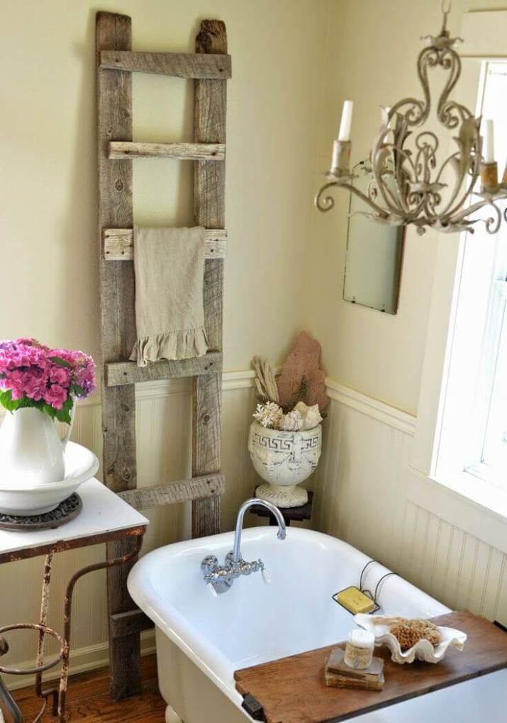 Quick and easy farmhouse bathroom decor hobby lobby that will make your space look professionally designed