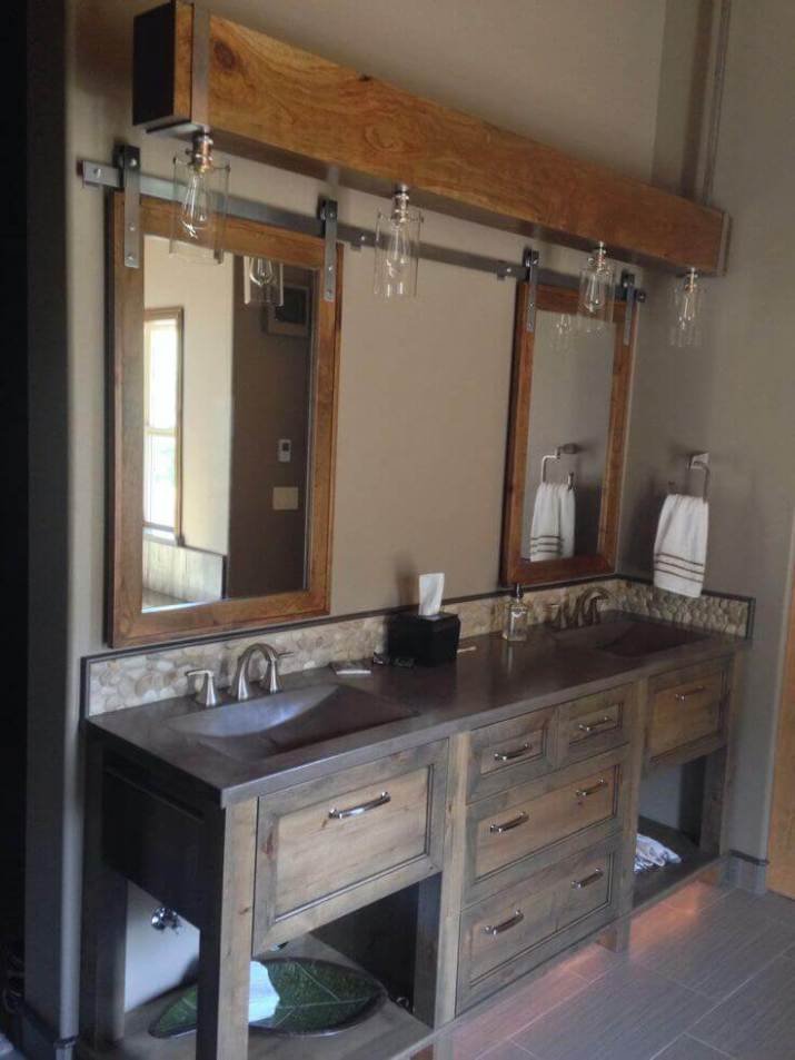 The most popular new farmhouse bathroom decor that will add personality to your home
