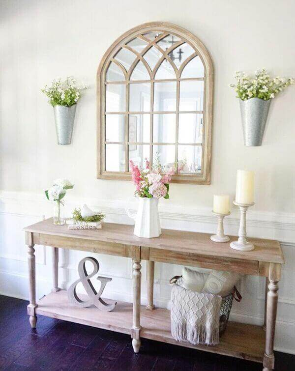 {Trend Decor Inspiration} Sweet and Sophisticated modern farmhouse decor that will add personality to your room for Country Home Decorating. We Show You How to Get It!
