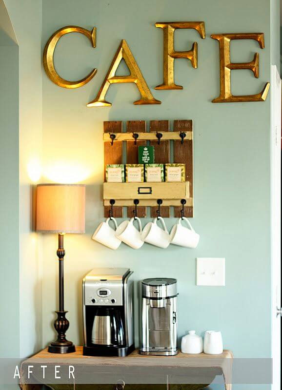 These gorgeous interiors prove coffee station organizer to liven up your home for better a good daily mood. Anyone Can Replicate