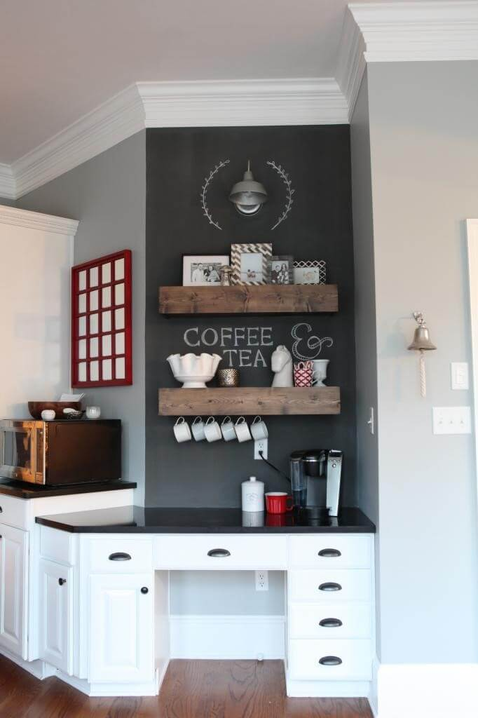 coffee station decor and design ideas