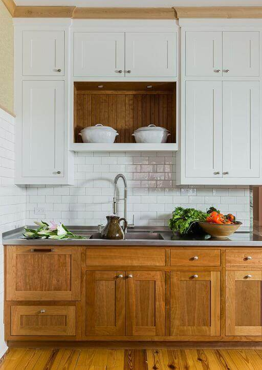 Get our best ideas for designing an elegant old farmhouse kitchen cabinets that will help transform your kitchen into the place you've been craving for so long