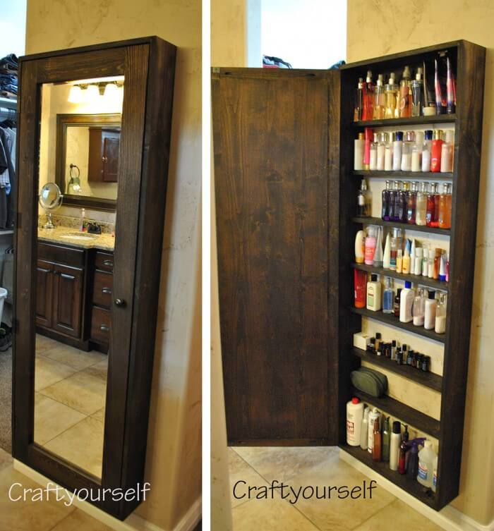 Hidden and Genius storage ideas for small spaces regardless of the size of your house.
