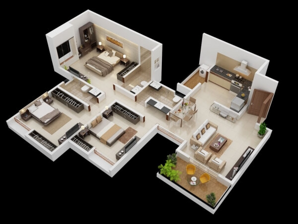 2 story barndominium floor plans