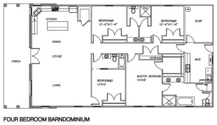 Complete Guide 40 Best Barndominium Floor Plans