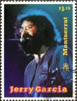 Jerry Garcia stamp image