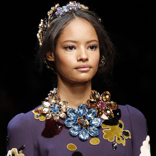 statement crystal necklaces