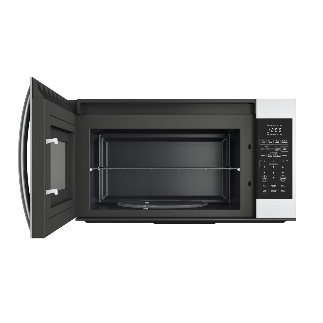 kenmore 83533 over range microwave 3d