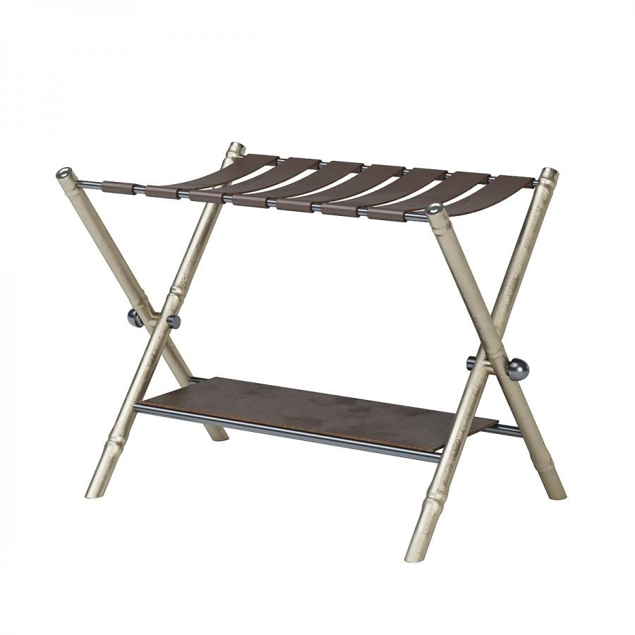 folding luggage rack 3d model for