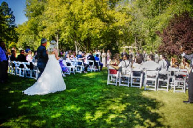 Kohl's Ranch Lodge Wedding Photography