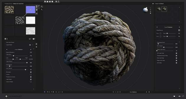 ShaderMap 4 is out  free for non commercial use   CGPress New features in Rendering Systems  software for extracting various map  types from photo textures and 3D models  editing normal maps and converting  existing