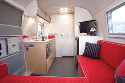 Airstream Bambi Kitchen