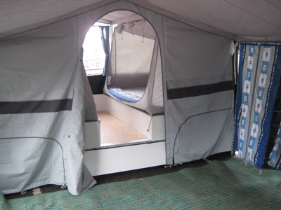 Inside the SunnCamp Holiday