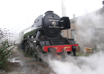 Steam Train at the National Railway Museum