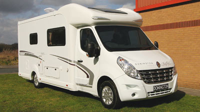 Bentley Donnington motorhome