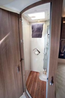 2013 Chausson Welcome 69 motorhome shower
