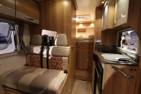 Bailey Approach Compact 520 Motorhome Interior