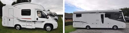 Which range of motorhomes stands-out in 2014?