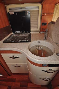 Hymer Starline Kitchen