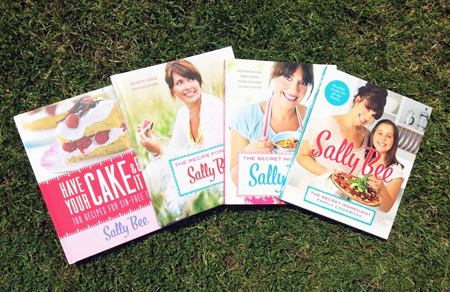 win a signed Sally Bee cook book