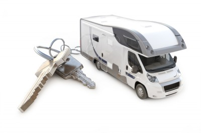 Motorhome and keys