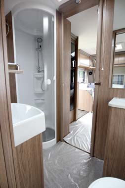 Coachman Laser 650 Washroom