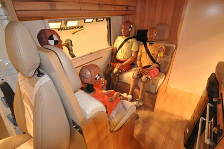 Motorhome travel seats