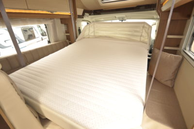 Dethleffs 4-travel double bed