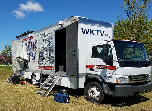 WKTV Media Truck