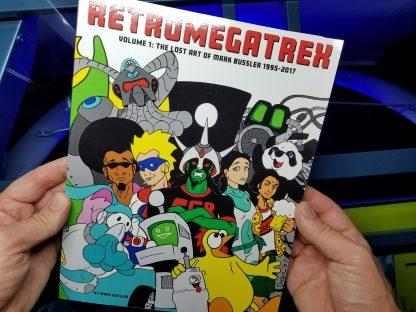Retromegatrex cover art